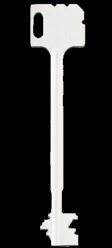 Ein Schlüssel für einen Safe