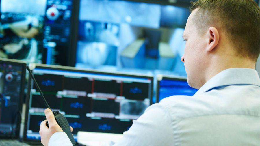 Überwachung in der Leitstelle