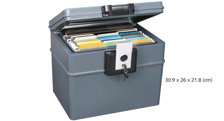Feuer Safebox für wichtige Dokumente.
